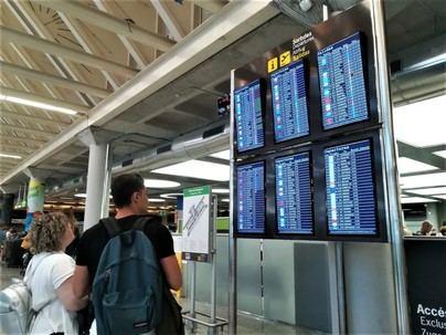 Las 'low cost' transportaron hasta agosto en Baleares a 5,7 millones de pasajeros, un 4 por ciento menos