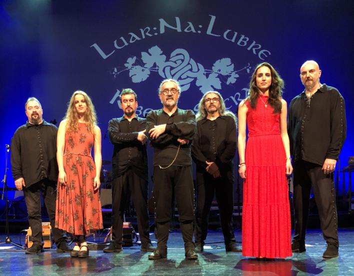 Javier Rubial y Luar Na Lumbre actúan en el Trui Teatre el 22 de noviembre