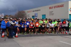 Cerca de 600 corredores llenan de �xito la carrera popular de Megasport