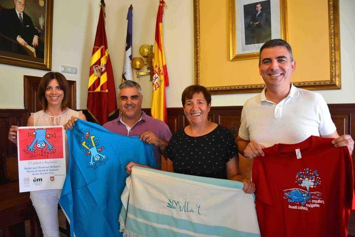 """Santanyí se suma a la campaña """"Mulla't per l'Esclerosi Múltiple"""""""