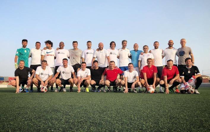 Mallorca Legends entrena con vistas a sus próximos compromisos solidarios