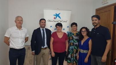 La Mancomunidad del Pla y La Caixa colaboran en un curso de actividades náuticas para jóvenes vulnerables