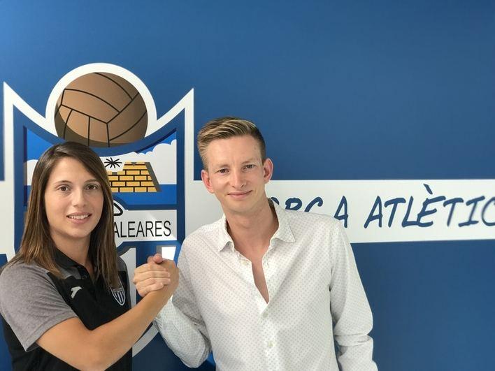 Marina Tugores es la nueva coordinadora del fútbol femenino del Atlético Baleares