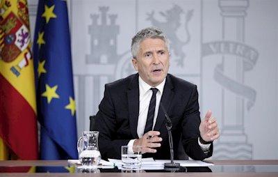 Marlaska: 'Se aplicará el Código Penal con contundencia al independentismo violento'