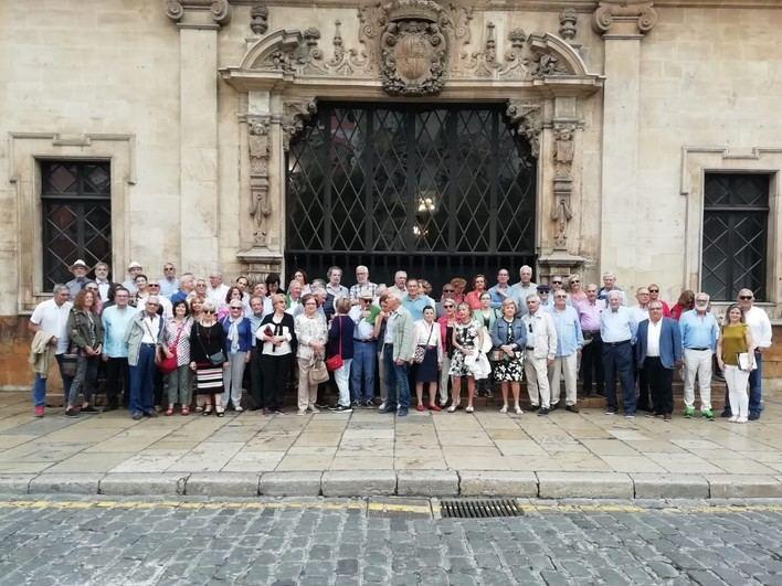 Más de 150 personas participan el XXIII Encuentro de Médicos jubilados del Comib