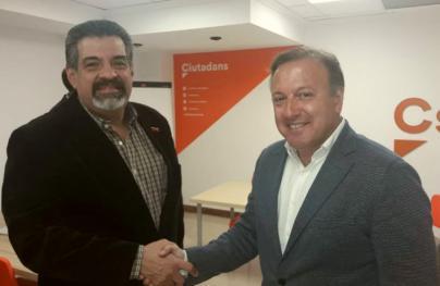 Ciudadanos muestra su apoyo a Juan Guaidó
