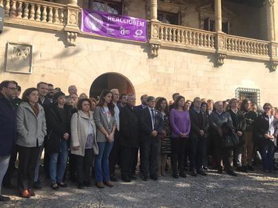 Baleares guarda un minuto de silencio contra la violencia de género