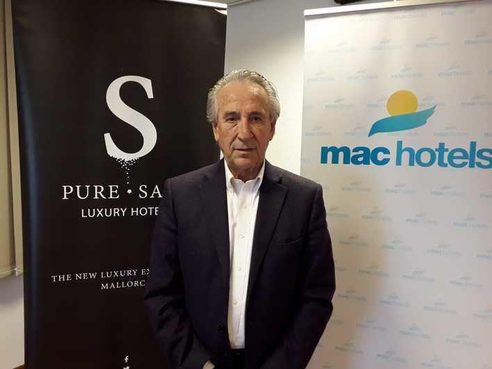 Miquel Amengual, presidente de Mac Hotels y Pure.Salt Luxury Hotels