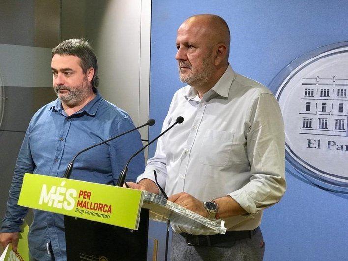 Miquel Ensenyat: 'De la represión nunca sale nada bueno'