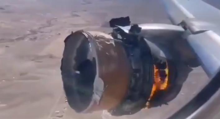 Un avión pierde parte del motor tras despegar de Denver