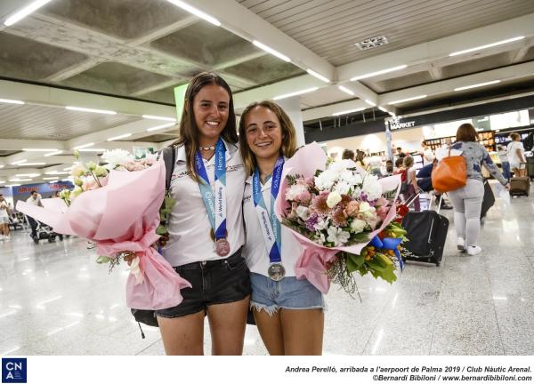 Andrea Perelló y Neus Ballester, subcampeonas del mundo en el Mundial Juvenil de 420