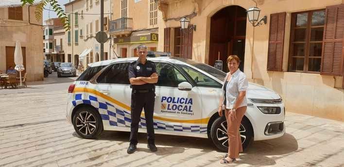 La Policía Local de Santanyí estrena nuevo vehículo