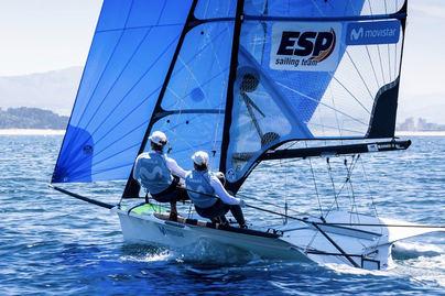 Barceló y Echegoyen participan en el campeonato de Europa de FX49er