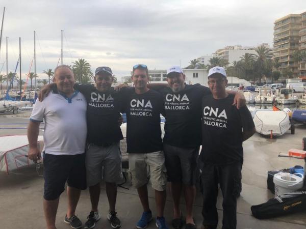El Club Náutic S'Arenal logra tres medallas en el campeonato de Baleares de Embarcaciones Fondeadas
