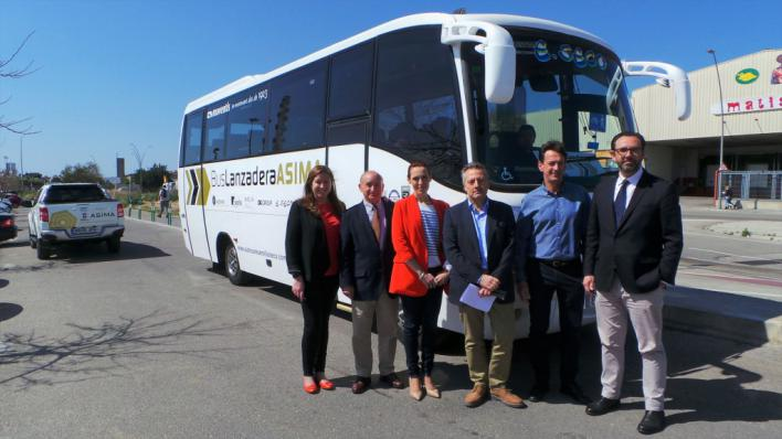Arranca el proyecto piloto de bus lanzadera ASIMA