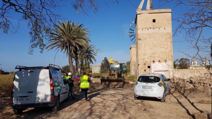 Comienzan las obras del tanque que evitará vertidos de aguas residuales a la Bahía de Palma