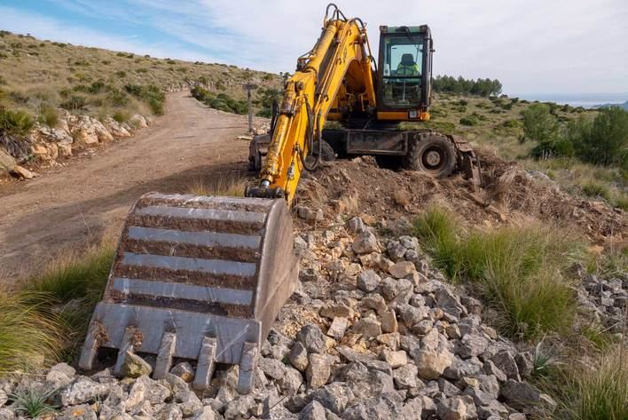 """El GOB pide al Govern """"paralizar"""" las obras de un acceso en el Parque Natural de Llevant"""