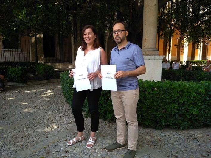 Més per Menorca apoyará la investidura de Armengol a cambio de
