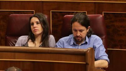 Irene Montero, positivo en coronavirus y Pablo Iglesias, en cuarentena