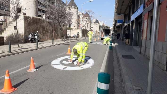 Palma implanta la máxima velocidad a 30 en nuevas calles