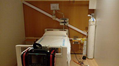 Salud adecúa el Palau de Congressos para pacientes sin Covid 19 que requieran curas