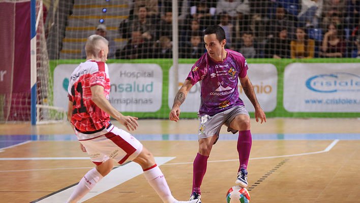 El Palma Futsal se juega ser cabeza de serie en las dos últimas jornadas