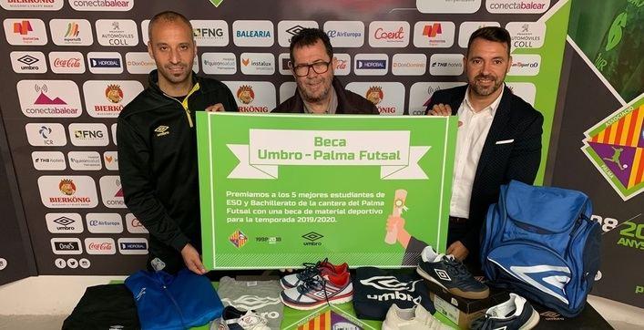 El Palma Futsal premiará a los mejores estudiantes de ESO y Bachillerato de su cantera