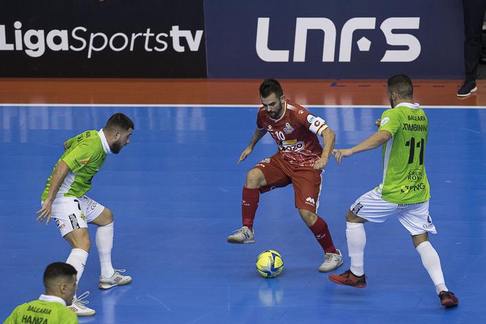 El Palma Futsal logra un punto de oro en su partido contra el Pozo Murcia