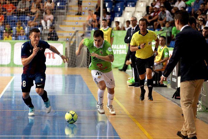 El Palma Futsal se enfrenta al Pozo Murcia con una plantilla muy mermada por las lesiones