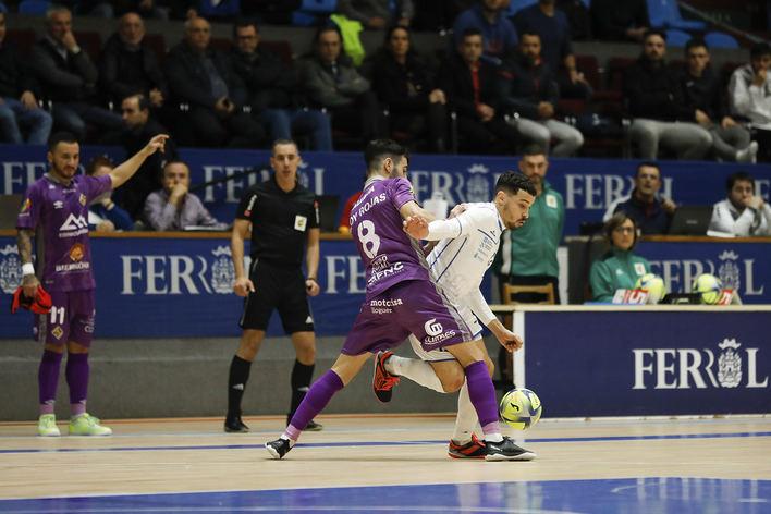 El Palma Futsal logra un empate y encadena su sexto partido sin perder (2-2)