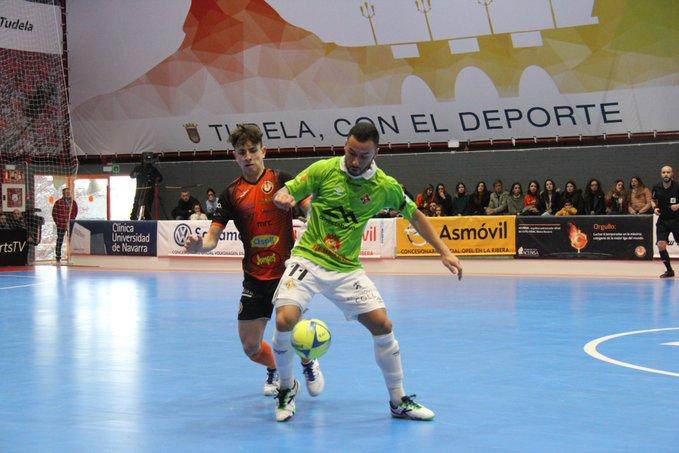 El Palma Futsal se coloca entre los grandes al ganar en Tudela