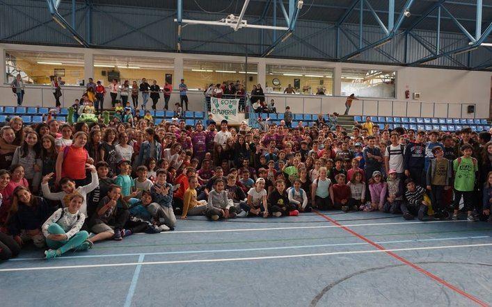 Éxito en Capdepera del primer show del Palma Futsal On Tour