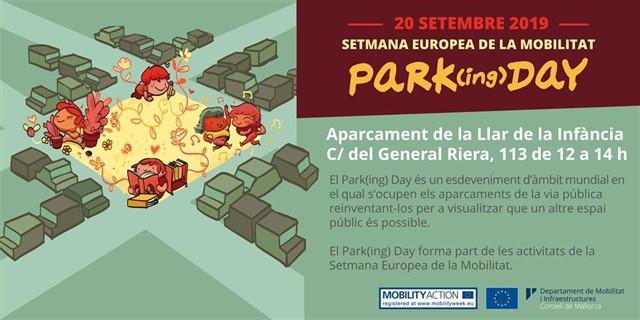 Un total de 18 entidades participan este viernes en el 'Park(ing) Day' de Palma