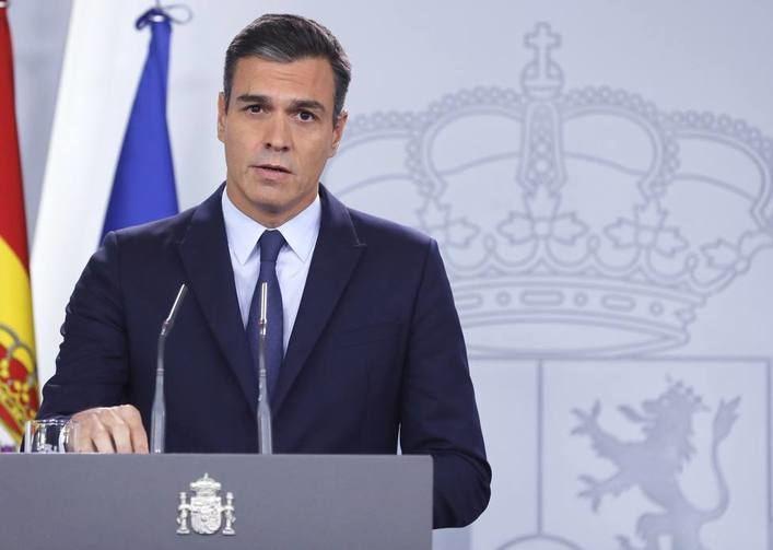 Sánchez descarta medidas excepcionales en Cataluña y apuesta por la moderación