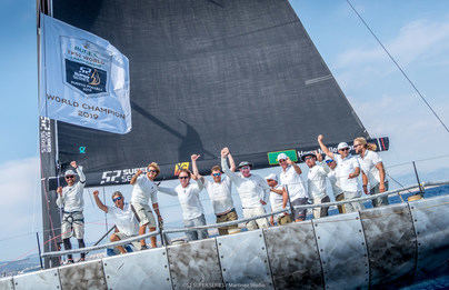 'Platoon' gana su segundo título mundial del Rolex TP52 World Championship Puerto Portals