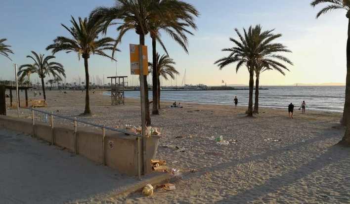 Levantadas 60 actas a locales por incitar al consumo de alcohol en Playa de Palma