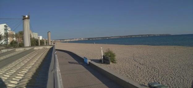 Palma cierra todas sus playas en una Nit de Sant Joan atípica