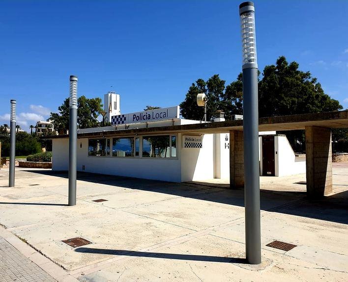 Vuelve a funcionar la oficina de la Policía local de Les Meravelles en Palma