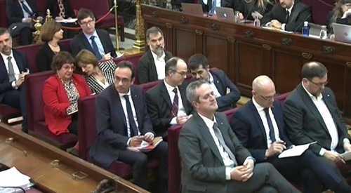 El Supremo permite la salida de los presos electos catalanes para la constitución de las Cortes