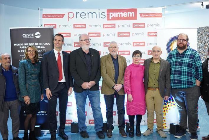 PIMEM otorga sus premios anuales 2019 a 6 empresas y a una asociación empresarial