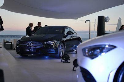 Autovidal presenta el nuevo CLA Coupé de Mercedes Benz por todo lo alto