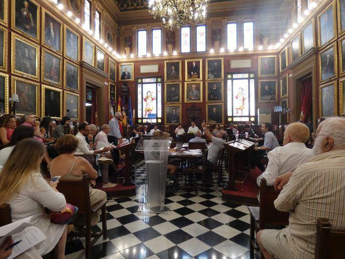 Primer pleno de la legislatura