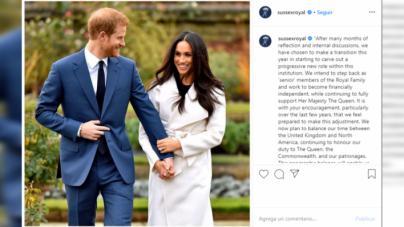 Los Duques de Sussex se desvinculan de la Casa Real británica