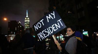 Protestas en EEUU contra el veto a los inmigrantes musulmanes