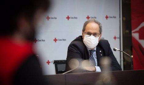 Torra recomienda no viajar a Madrid por el coronavirus