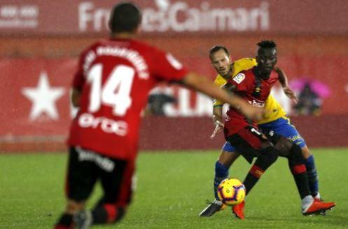 El Mallorca se mete en puestos de play-off tras vencer al UD Las Palmas