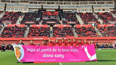 El Mallorca se lleva la victoria contra el Ontinyent en Son Moix