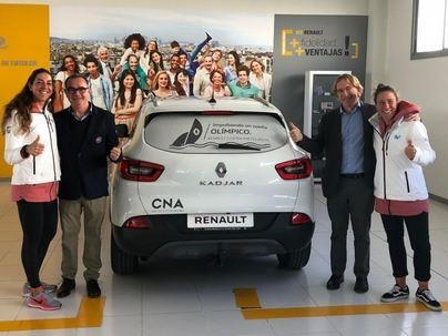 El equipo de vela olímpica 23Energy Team tiene coche oficial