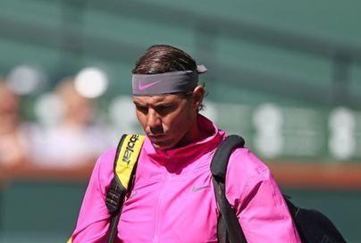 Nadal se retira de Indian Wells por problemas en la rodilla