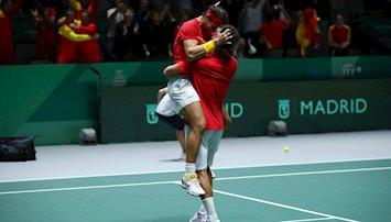 La España de Rafa Nadal alcanza una nueva final en la Copa Davis